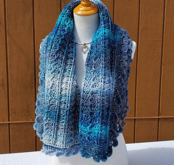 Wedding shawl, prom dress shawl wrap, fall fashion shawl, bridal shawl, rectangle shawl, crochet wrap, mothers day wrap, custom design shawl