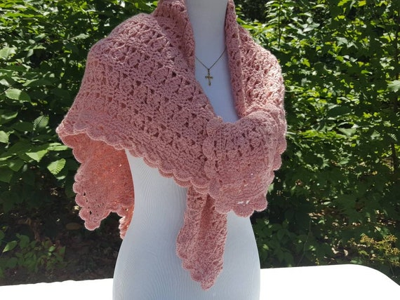 Rose crochet shawl, lapghan cover, bridesmaids wraps, bridal accessory, bohemian wrap, boho chic shawl, prayer shawl, wheelchair blanket