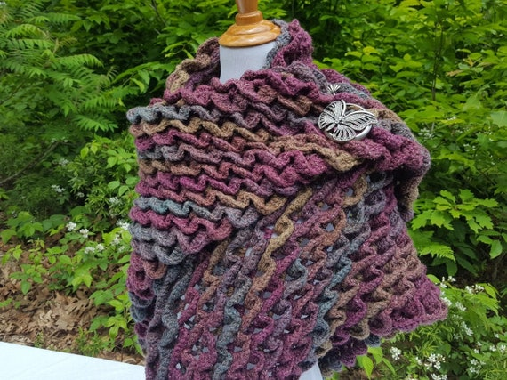 Wedding shawl, bridal shawl, bridesmaid gift, mothers day wrap; OOAK crochet shawl wrap
