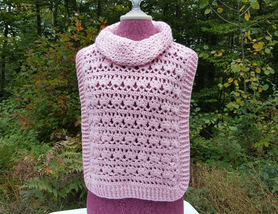 Pink pullover, children's sweater, fall fashion pullover, custom sized children's cover-up, childs crochet pullover, mother-daughter set