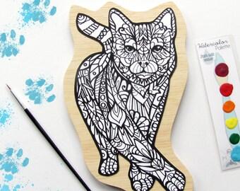 Cat Painting Art Kit- DIY Art