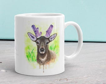 Amethystos Ceramic Mug