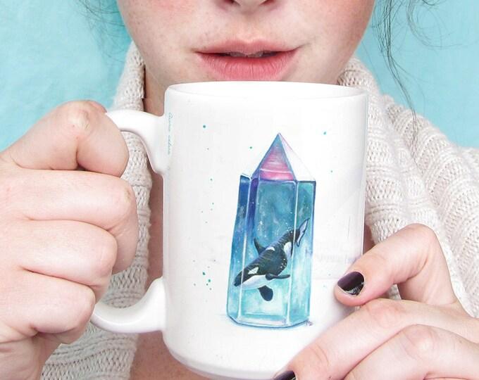 Featured listing image: Aura Cetus - Orca Ceramic Mug