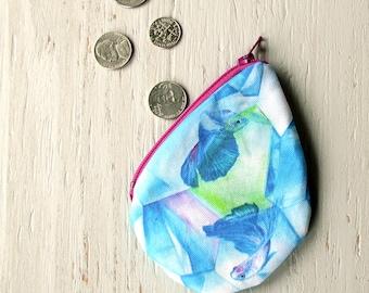Crystal Betta Fish Coin Purse