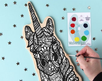 Paint Your Own Art Kit - Unicorn