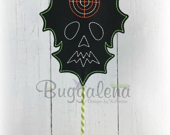 Monster Two Target BuggaSign Embroidery Design