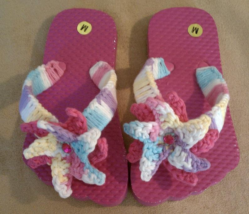 Very Rare Flip Flop Paint Mini Cooper S Convertible: Summer Princess Flip Flops Hot Pink Lavender Aqua Yellow