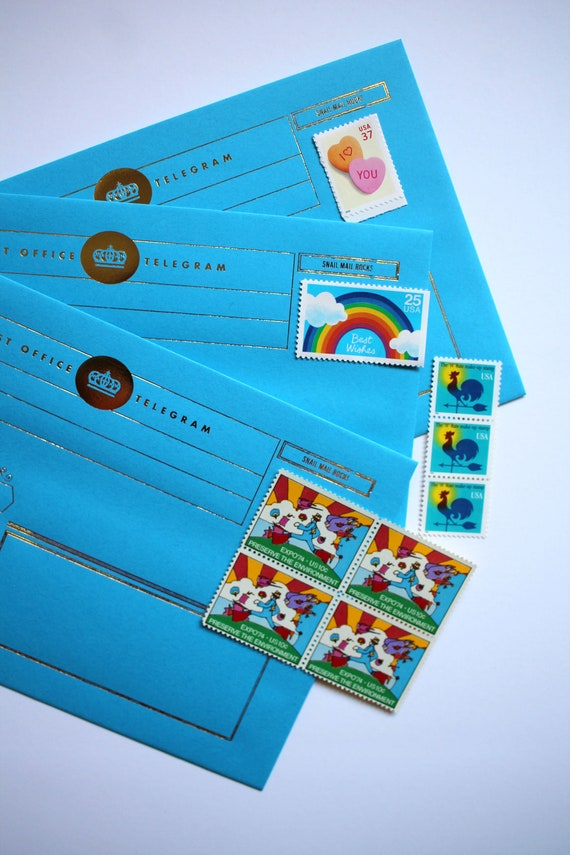 Snail Mail Letter writing sheets