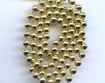 Brass Ball Chain 4 feet size 3.2mm