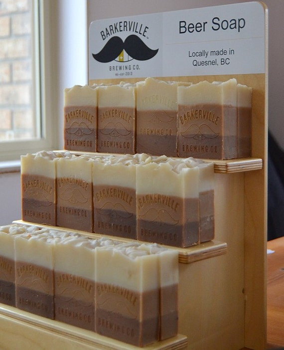 Collapsible Point Of Sale Display Unit Retail Display Etsy Delectable Soap Display Stands