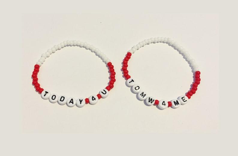 e8dccc696fd03 TODAY 4 U TOMW 4 ME (Rent) Beaded Friendship Bracelets