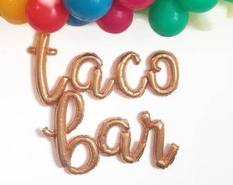 Taco bar balloons,fiesta party,taco party,fiesta,fiesta balloons,Cinco de Mayo,taco party decoration,taco twosday,taco Tuesday,taco bar