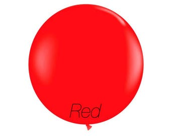 36 inch Red jumbo balloon,giant party balloon,wedding balloon,Red balloon,jumbo balloon,wedding balloon,baby shower decoration,Red