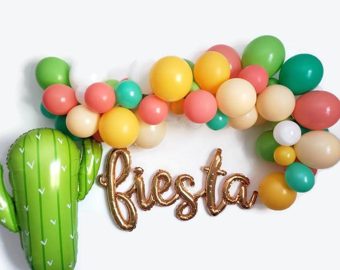 Fiesta balloon Garland,balloon Garland kit,fiesta balloons,fiesta decor,fiesta ideas,final fiesta,first fiesta,fiesta,fiesta theme