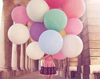 36 inch jumbo balloon, giant party balloon,wedding balloon,baby shower decoartion,wedding decoration,huge balloon,globes,birthday