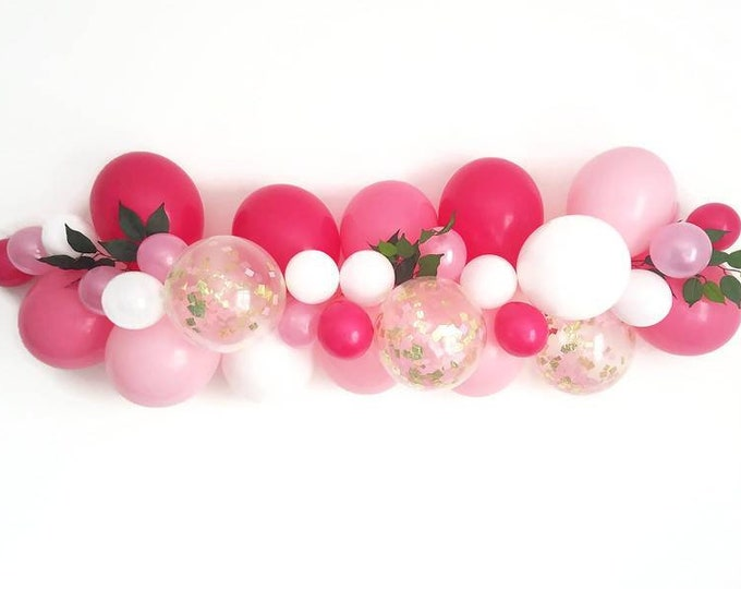 Balloon Garland,DIY balloon Garland kit,Pink balloon Garland,Complete balloon Garland kit.DIY balloon Garland,baby shower balloon garland