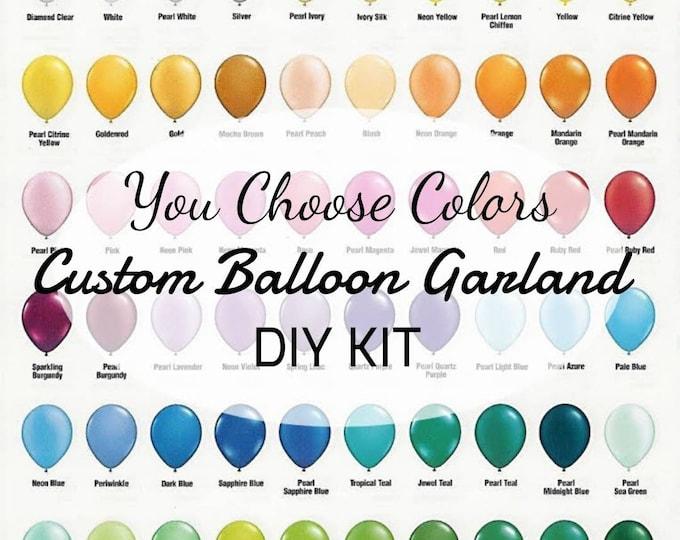 Balloon Garland,Balloon Garland kit,DIY balloon Garland, Custom balloon Garland, Design your own balloon Garland,Balloon arch,birthday