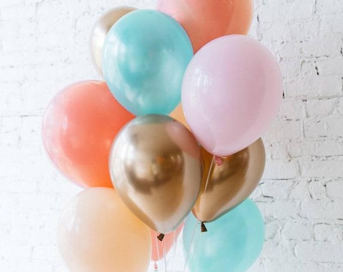 Balloon bouquet,latex balloons, 11 inch latex balloons,you choose balloon bouquet, wedding balloons,birthday balloons,baby shower balloons