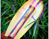 Body Surfing Hand Plane - Paulownia with Pink and Blue Plies
