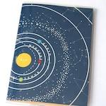 PASSPORT COVER - Solar System. Passport Holder, Passport Case, Geek Chic, Travel Gift Idea, Wanderlust, Graduation Gift, Wanderlust