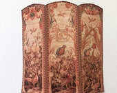 Miniature Reproduction 18th Century Dressing Screen or Room Divider 1 12 Scale
