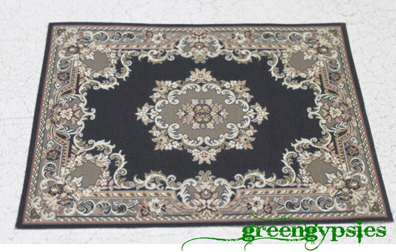 3 x 5 inches 1:12 scale Dollhouse Rug  Approx
