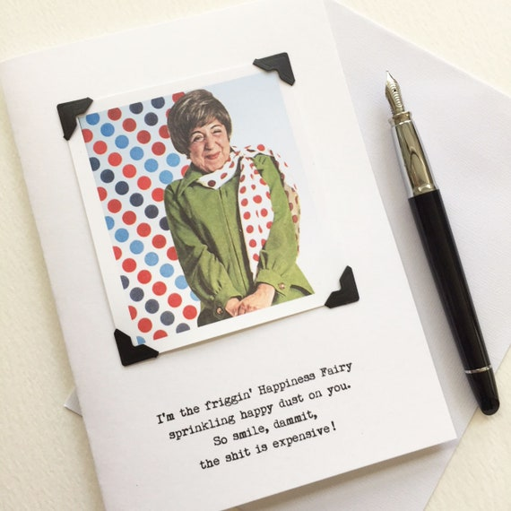 Funny Card to Cheer You Up From the Happiness Fairy