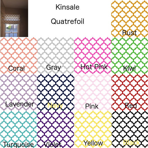 Fabric By The Yard Kinsale Quatrefoil Home Decor Fabric