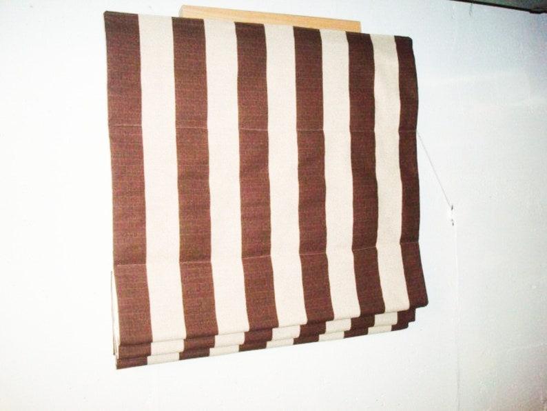 blackout option Classic Flat Roman Shades Custom Relaxed Faux Window Curtain bedroom bathroom roman shade for kitchen laundry windows