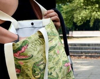 Swamp Lady Gator Tote Bag