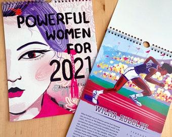 SALE 2021 Calendar of Powerful Women