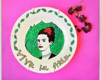 SALE Viva La Frida Decorative Plate