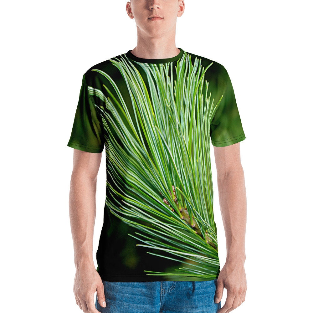 Pin All Over Blanc Branche All Over Pin Print T Shirt Homme E6ef01