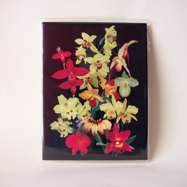 Home Decor Tile: Orchid Ceramic Tile Home Decor Kitchen Decor Housewarming