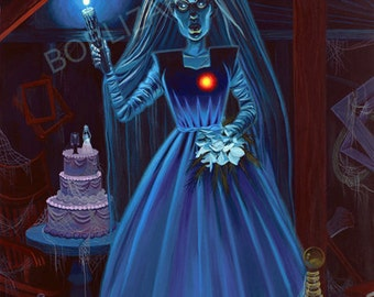 The Haunted Mansion Bride of Frankenstein