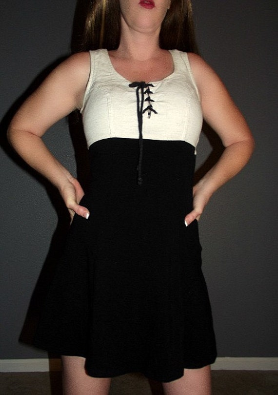 SM Vtg 80s LEOPARD Print Babydoll Dolly Boho Hippie Micro Mini Dress Tunic