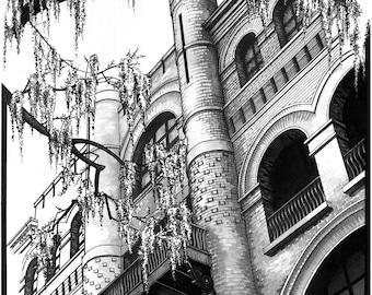 "Savannah Architecture - 18"" x 24"" Glicee Print"