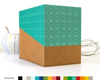 great Christmas gift: REZEPTBOX, recipe box with 200 index cards and 24 registers, cookbook, recipe book, sperlingb.design