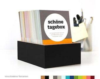 BEAUTIFUL BOX, Perpetual Calendar, Diary, Perpetual, Box for Memories, Fancy Gift Idea, Special Gift, Birthday
