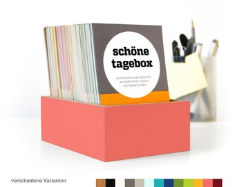 BEAUTIFUL BOX, memory calendar, diary, calendar box, collect beautiful moments, birthday gift, beautiful days box, sperlingb. Design