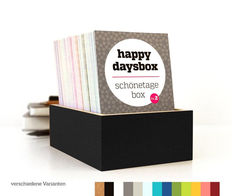 Diary HAPPYDAYSBOX Schönetagebox as language-independent image 1