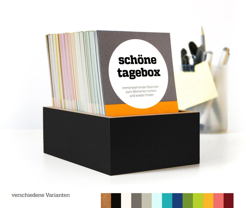 BEAUTIFUL BOX box for reminders box for short diary entries image 1