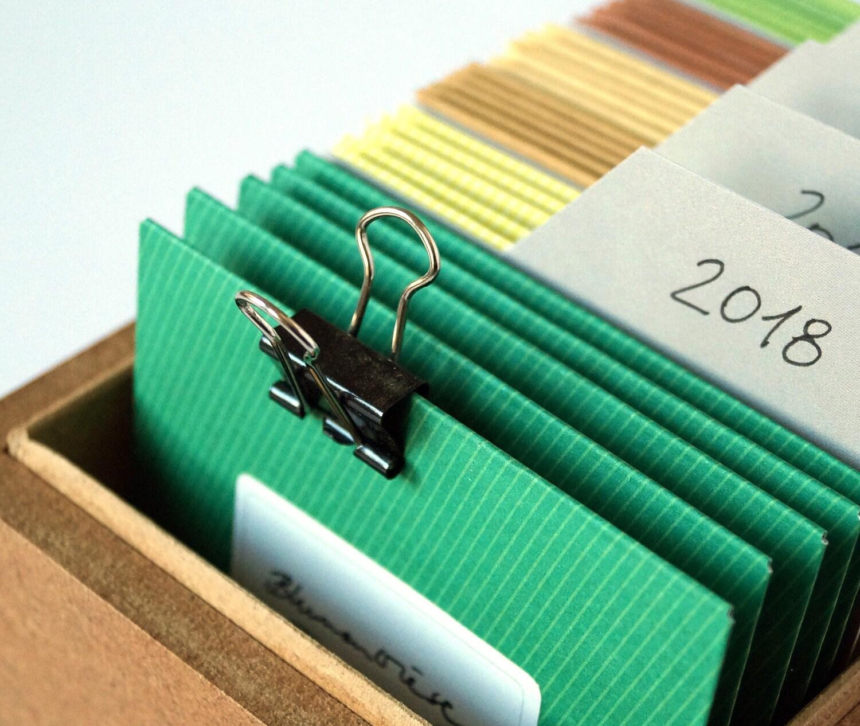 Cadeau de jardiniers, jardiniers, jardiniers, boîte avec des sachets de graines (vides), boîte de jardin recueillir les graines pour jardiniers, balcon, jardin, cadeau de Noël 85ce7f