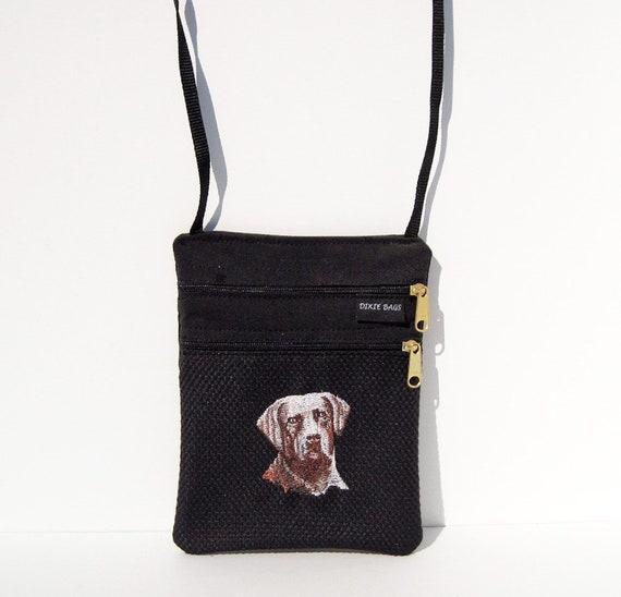 Dog Surprised Border Collie Cross Body Shoulder Messenger Laptop Bag