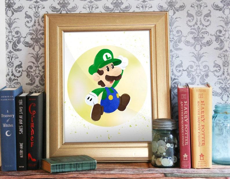 Luigi Mario Bros Print Super Mario Marios Bros Printable image 0
