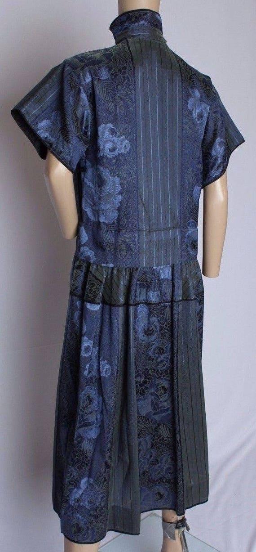 RARE Vintage 70's Kenzo Paris Floral Brocade Irid… - image 3