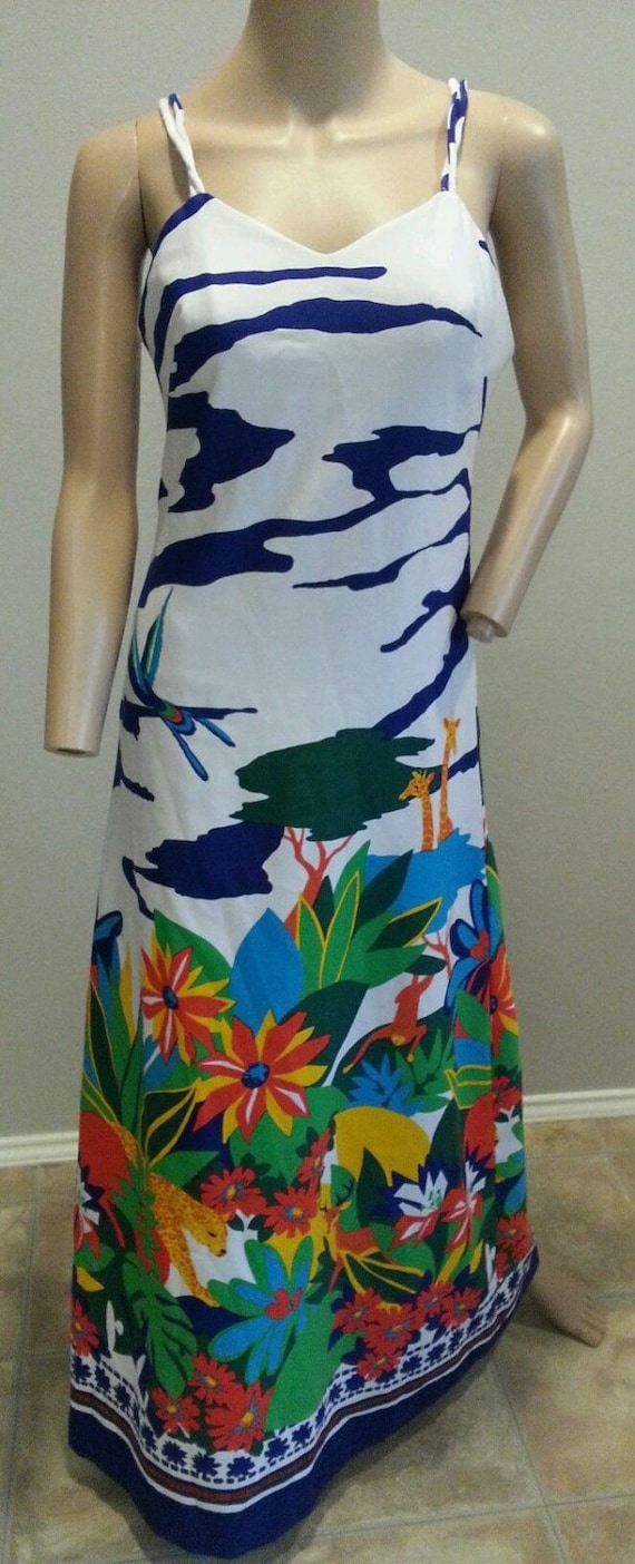 Vintage 60's Tori Richard Honolulu Neiman Marcus A