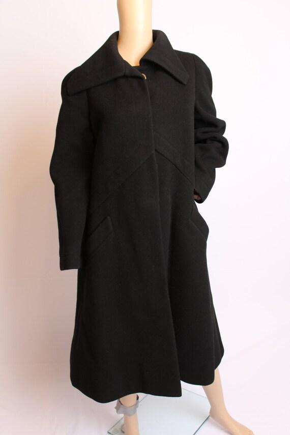 Vintage 50's Pauline Trigere Neiman Marcus Black W