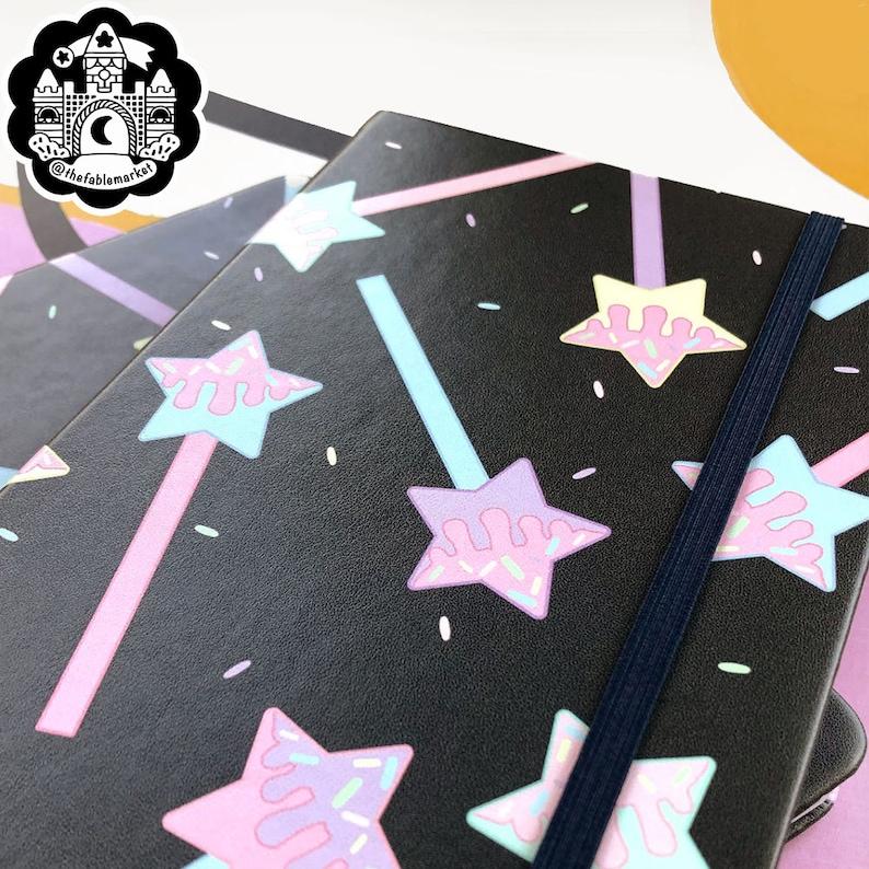 Sketch Paper Fairy Kei Pop Kei Magical Girl Pastel Magical Boy Pastel Star Pop Notebook Yume Kawaii Free Shipping Sketchbook