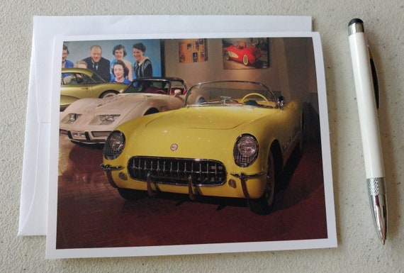 Antique Cars Blank Photo Note Cards